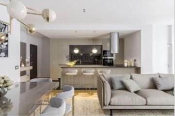 Apartamento T2 Virtudes - Sala de estar e Jantar